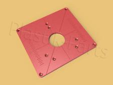ABS Befestigungsplatte Einlegeplatte für Frästisch Bosch POF1400ACE 1200AE Fräse