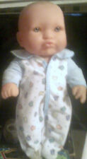 "Berenguer 15"" Chubby Baby Doll Blue Eyes Euc"