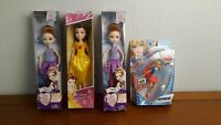 Doll Lot Disney Belle/Ever After High HOLLY O'Hair/Super Girl DC Comics