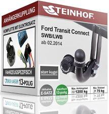 AHK fest Für Ford TRANSIT CONNECT II ab 2014+E-SATZ 13p FAHRZEUGSPEZIFISCH