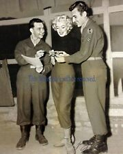 Marilyn Monroe in Korea, Korean War 8 X10 GLOSSY PHOTO PICTURE IMAGE  Star M261