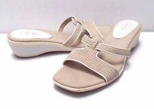 7.5 B Cole Haan leather comfy sandal slide casual flip flop shoes