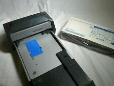 Bartizan Credit Card Imprinter with blank credit card receipts - Card Swiper