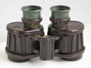 rare Carl Zeiss 6x30B HTK crown military binoculars from danish army,collectors
