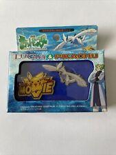 More details for pokemon pikachu pin badge lugia movie memorial founder pokemon limited rare