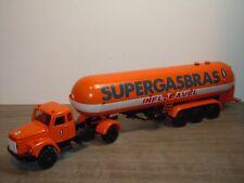 Scania Vabis SUPERGASBRAS INFLAMAVEL - Arpra Supermini Brazil 1:50 *36393