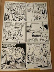 Original comic book art Detective Comics #485 page 26 by Kurt Schaffenberger