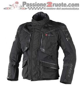 Dainese Ridder D1 Noir Gore-Tex Blouson Moto Imperméable Et Transpirant