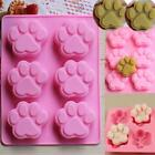 Paw Print Shape Silicone Mould Chocolate Fondant Mold ice Decorating Tools FW