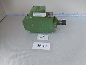 Perske VS30.06-2, Milling Spindle RPM 17300 1/Minimum 0,3 Kw, Collet Recording