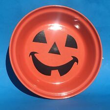 Homer Laughlin Fiesta PERSIMMON Happy Pumpkin Pie Baker Plate NIB