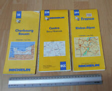 (1994) Michelin Maps Number 54 Cherbourg,238 Berry-Nivernais & 244 Rhone-Alpes