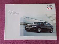 Buy a8 model car owner operator manuals ebay audi a8 2005 2007 owners manual handbook user guide au publicscrutiny Images