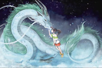 1000 Pièces Puzzles adultes difficile Noctilucent Growups Puzzle Spirited Away