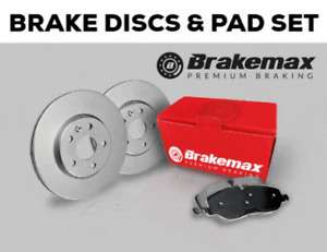 FOR AUDI A1, A2, A3 REAR BRAKE DISCS AND PADS   ORIGINAL QUALITY BRAKE DISCS