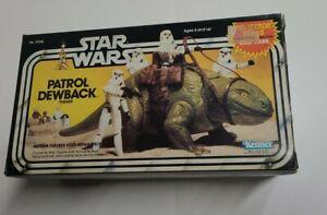Star Wars Vintage Patrol Dewback Collector Series 1983 in the Original Box