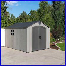 [No Tax] Lifetime Products 8' x 12.5' Resin Outdoor Storage Shed