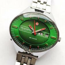 Uglich (Poljot) Stadium automatic Day&Date 2627H USSR watch. 23 jewels 1980s