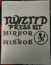 VINTAGE RARE TWIZTID MIRROR MIRROR PRESS KIT PSYCHOPATHIC ICP INSANE CLOWN POSSE