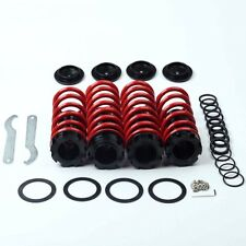 For Accord 98-02 Red Coilovers springs lowering spring coil over with scale