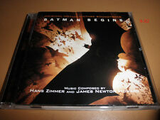 BATMAN BEGINS soundtrack CD score HANS ZIMMER james NEWTON HOWARD dark knight 1