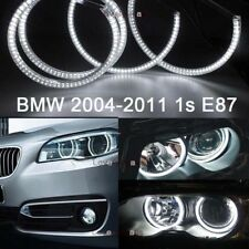 4x 6000K Diamond White Smd Led Halo Ring For Bmw 2004-2011 1s E87 Angel Eyes Drl