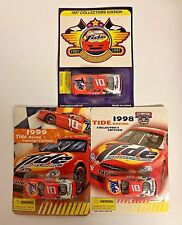 Racing Champions Tide Collector Edition 1997, 1998 & 1999 1:64 scale (3 cars)