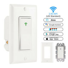 Timer Remote Control Wifi Wall Switch LED Light Dimmer Smart Home Touch Panel