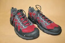 40% OFF!  NEW MEN'S OBOZ CIRQUE B-DRY LOW HIKING BOOTS , US 9, CRIMSON /BLACK..
