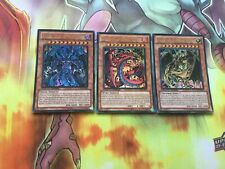 LC02 Set of Sacred Beasts. Ultra Rare. NM LC02-EN001 LC02-EN002 LC02-EN003