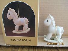 Precious Moments 1986 Ornament Rocking Horse 102474