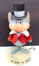 Vintage Dakin 1970 Goofy Grams Mouse I'Ll Drink To That Bar Figurine Statue