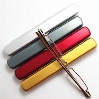 Mini Slim Portable Reading Glasses Pen Tube Case 1.00 - 4.00 Diopter New