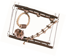Trixie Hamster Mouse Gerbil Cage Accessory Hanging Suspension Bridge Ladder Toy