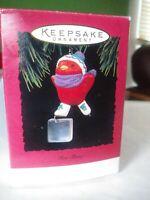 Hallmark Keepsake 1994 Ornament Ice Show Skating Red Bird with Box
