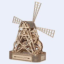 Mill, WOODEN CITY, 3D Puzzle, Mechanical model kits