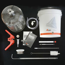 Home Brewing Equipment Kit With 6 Gallon Glass Carboy (K6)