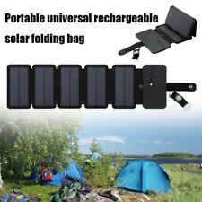 Outdoor Notfall Überlebensausrüstung Zubehör Solar Ladegerät Camping Faltbar