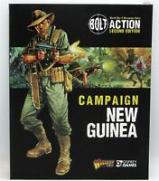 Bolt Action 401010004 Campaign New Guinea (Book) Warlord Games Rules Supplement
