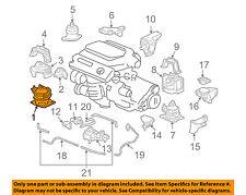 HONDA OEM 03-06 Accord-Engine Motor Mount/Torque Strut 50830SDBA04