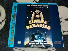 Cinema Paradiso CinemaDisc Laserdisc Ld Giuseppe Tornatore Free Ship $30