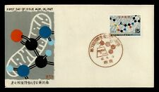 DR WHO 1967 JAPAN FDC 7TH INTL CONGRESS OF BIOCHEMISTRY  181899