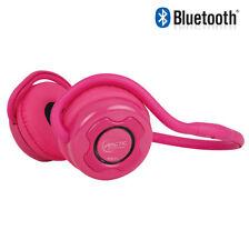 Arctic p311 rosa-bluetooth estéreo auriculares deportivos auriculares con micrófono