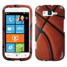For Samsung Focus 2 i667 HARD Protector Case Snap on Phone Cover Basketball
