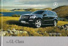 Mercedes-Benz GL-Class 2007-08 UK Market Sales Brochure 500 320 CDi 420 CDi