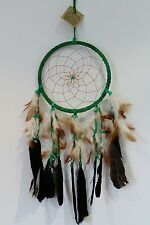 LARGE NATIVE DREAMCATCHER GREEN 50CM DROP TO HELP BAD DREAMS BNIP / dcle16gre