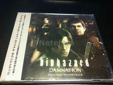 1214 Resident Evil Biohazard Damnation Original CG Motion Picture SOUNDTRACK CD