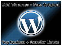 500 Exklusive Wordpress Themes WP Grafiken Layouts Themen DOWNLOAD Gut E-Lizenz
