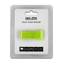 Lettore memory card USB Nilox 10NXCRMI00002 Verde lettore schede sd