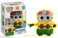 Glow Hula Minion 2015 NYCC Exclusive Comic Con Funko Pop Movies Despicable Me 2